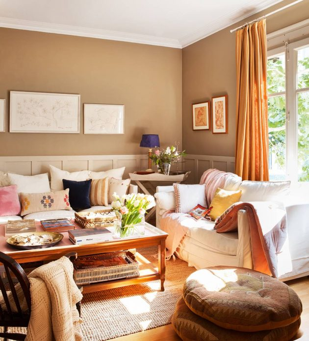 10 Interiors That Show Why Decoration in Brown is a Success