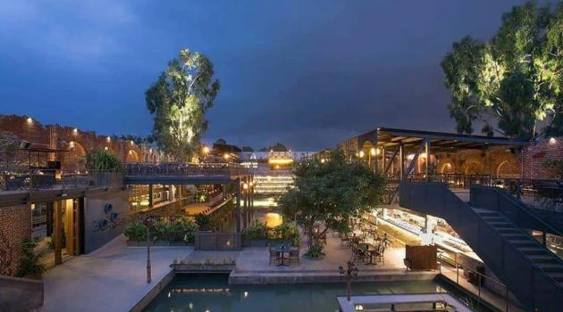 BYG BREWSKI – A Pub Complex with an Industrial Theme in Bengaluru