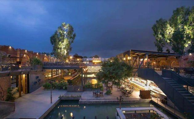 BYG BREWSKI - A Pub Complex with an Industrial Theme in Bengaluru