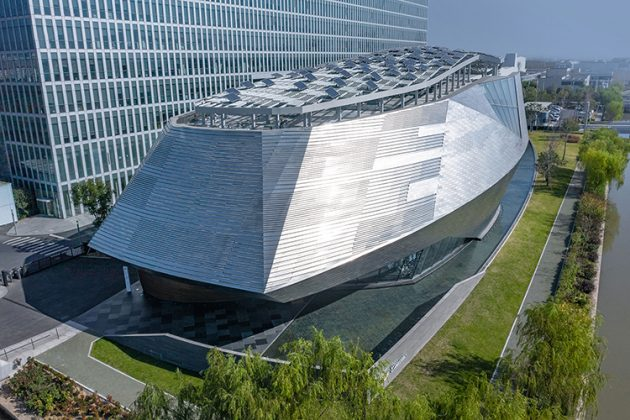 Cadillac House designed by Gensler in Shanghai, China