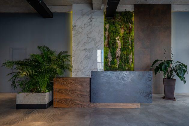 G&T Service Interior by Wall Design Studio in Tbilisi, Georgia