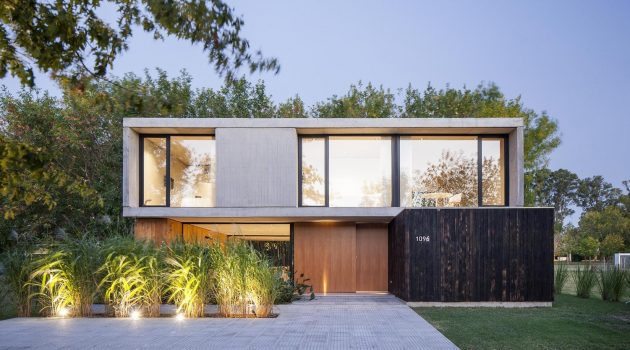 MF House by Estudio V2 Arquitectos in La Plata, Argentina