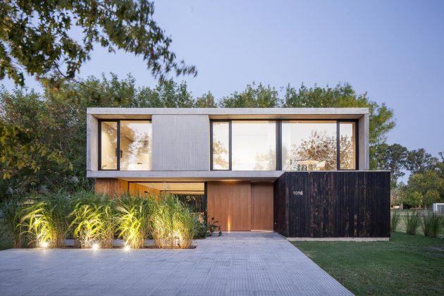 MF House by Estudio V2 Arquitectos in La Plata, Argentina