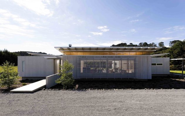 Norrish House by Herbst Architects in New Zealand