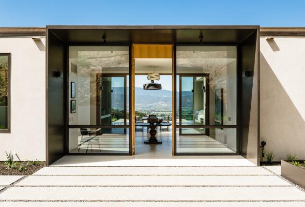 Oakville View Estate by John Maniscalco Architecture in Napa County, California
