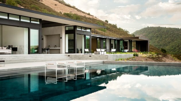 Oakville View Estate by John Maniscalco Architecture in Napa County, California