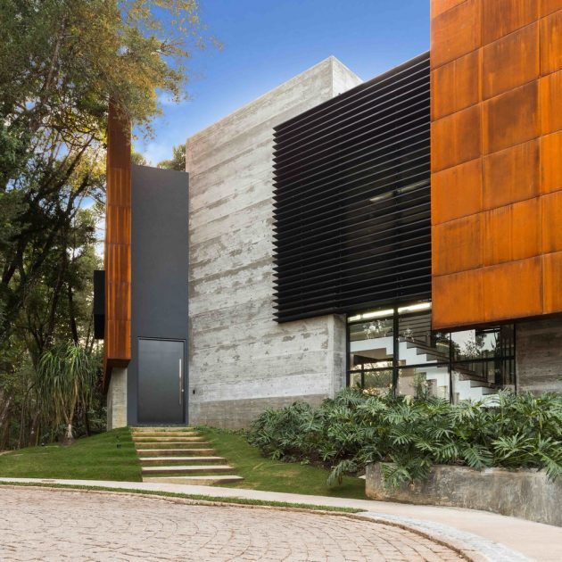 SEP House by MMA Studio in Curitiba, Brazil