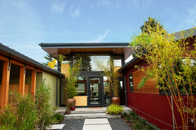 Sand Point Residence by Coates Design Seattle Architects in Seattle, Washington