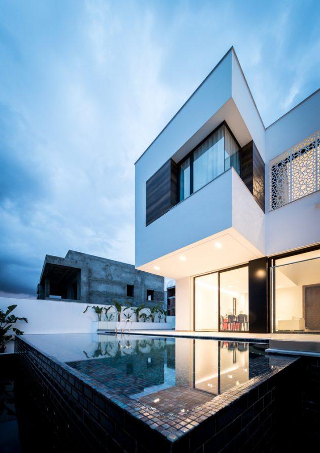 Villa Z by ARK-Architecture in Tunisia