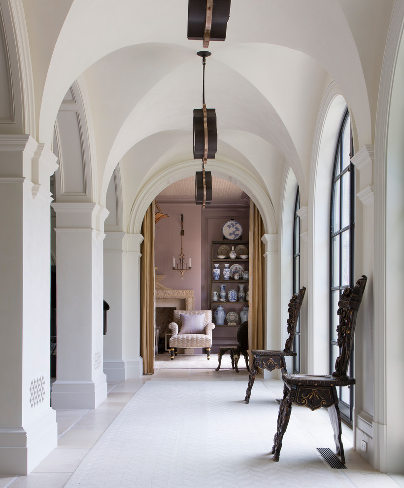 18 Lovely Mediterranean Hallway Designs That Are Anything But Boring