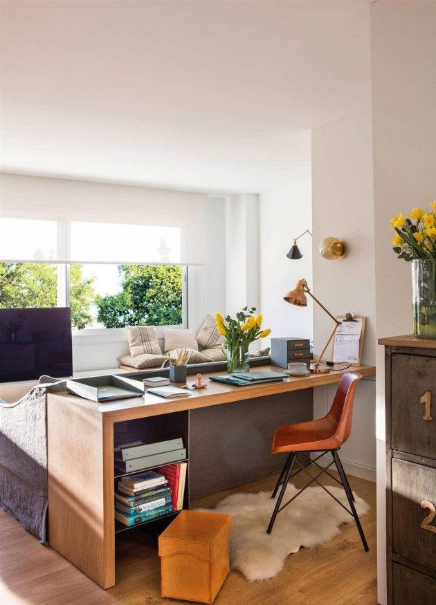 Improvised Places to Telecommute at Home