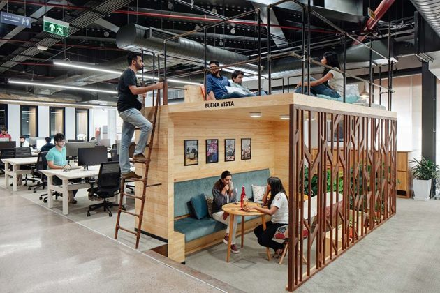 Office Design: What Are The Techniques That Google and Facebook Teach Us?
