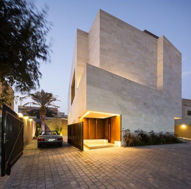 Box House I by Massive Order in Rawoda, Kuwait