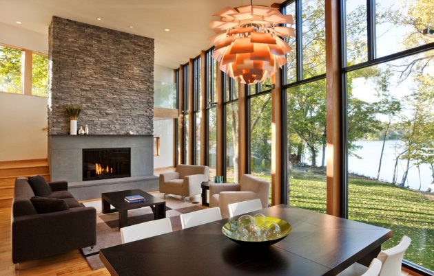 Farquar Lake Residence by ALTUS Architecture + Design in Minnesota, USA