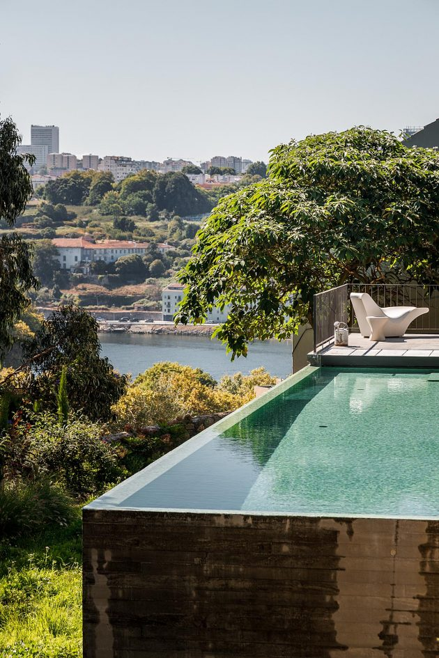 Golgota House by Floret Arquitectura in Porto, Portugal