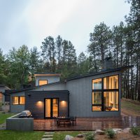 Northern Lake Home by Strand Design in Minnesota, USA