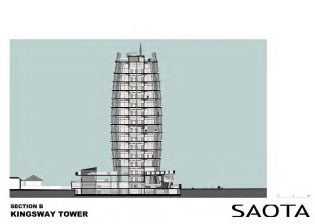 SAOTA designs the 15 story Kingsway Tower in Lagos