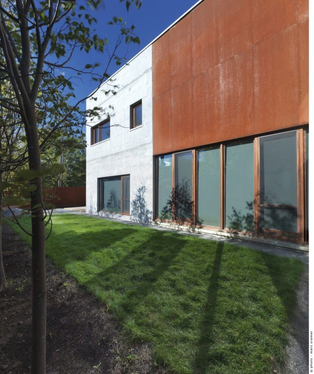The Beaumont House by Henri Cleinge in Montreal, Canada