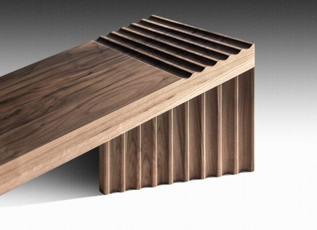 The Rhythmic Frequency Bench by OKHA