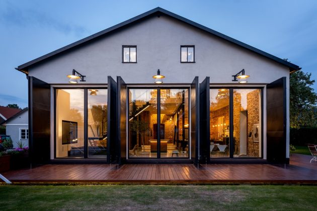 A Dream House for Lovers of Nordic Design & Industrial Style