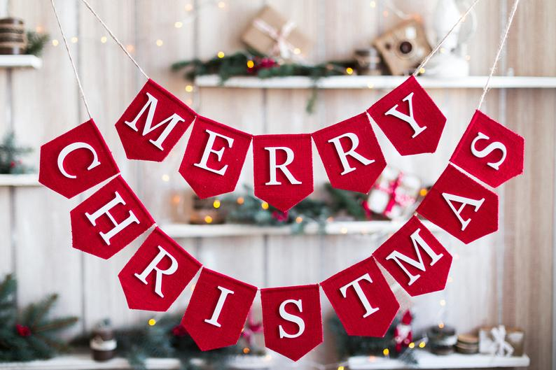 15 Fantastic Christmas Banner Ideas You Will Want In Your Home