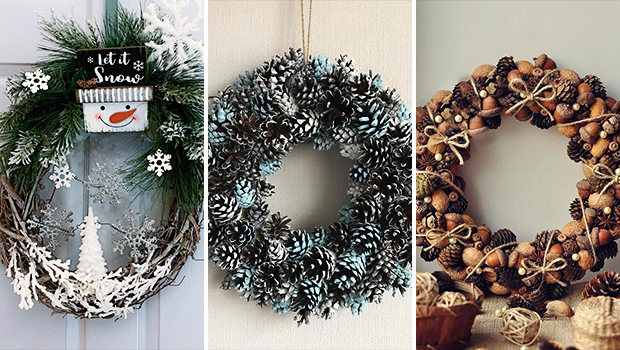 16 Wonderful Winter Wreath Designs That Will Dazzle You