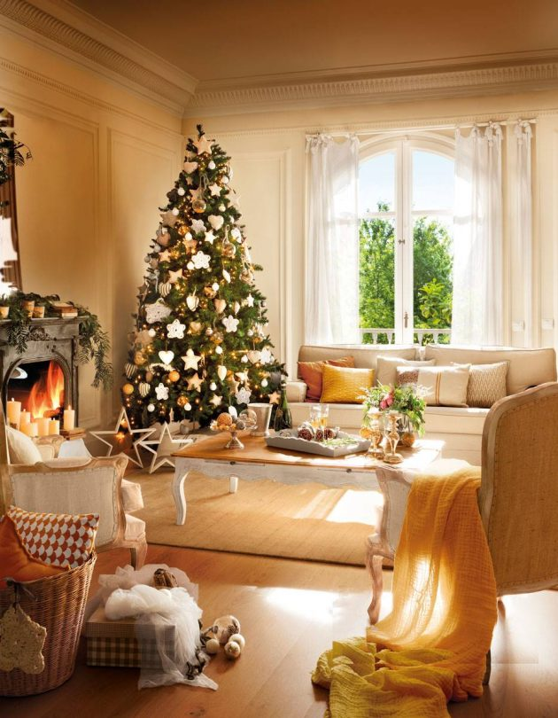The Best 10 Christmas Living Rooms ( Part II)