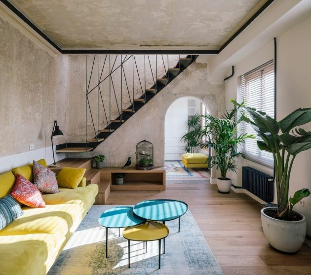 Colorful Penthouse in Madrid That Will Amaze You