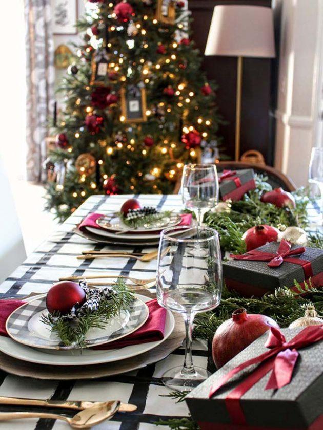 Christmas Table - Style Decor Ideas