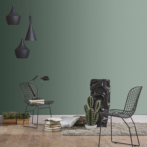 Sage Green in the Living Room
