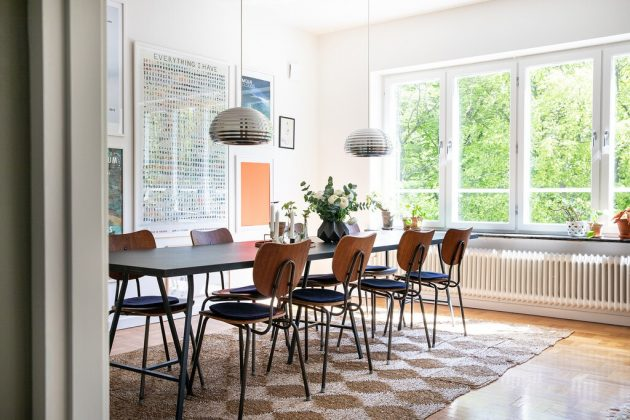 Dark Brown & Vintage Furniture for That Rustic Nordic Touch