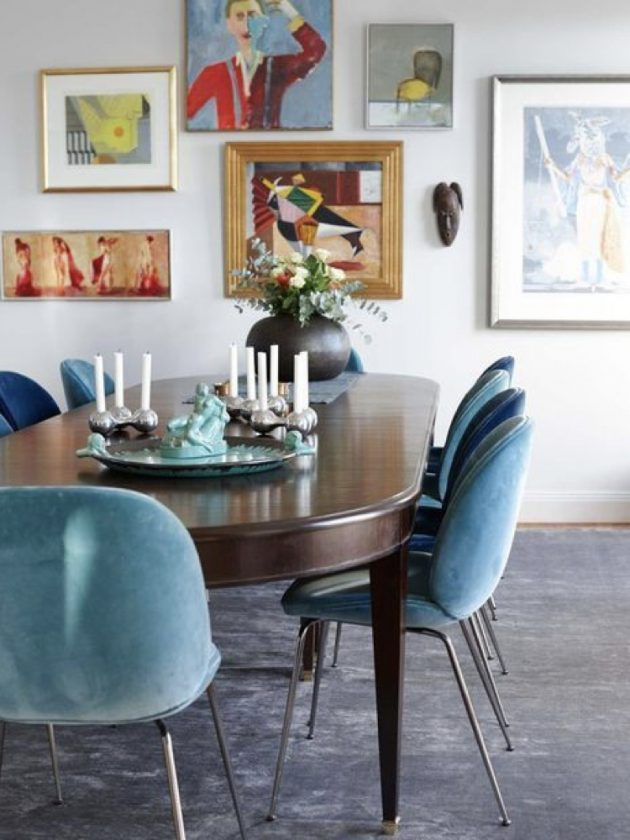 A Dining Room in the Arty Style