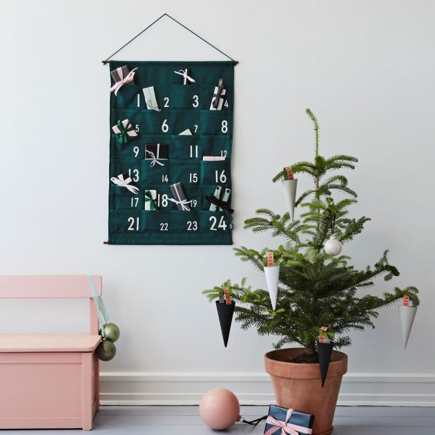 Decorative Advent Calendars to Fill Out This Year