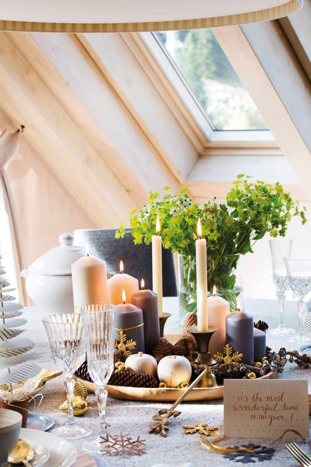 10 Ideas of Christmas Centerpieces - Ideas to Dress the Table (Part I)