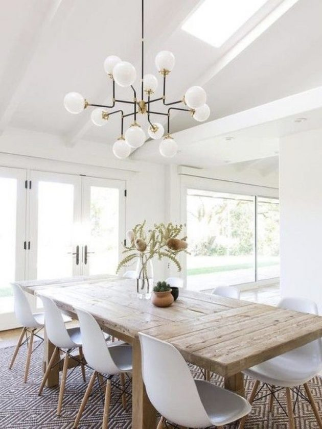 White in the Dining Room is Always a Great Idea