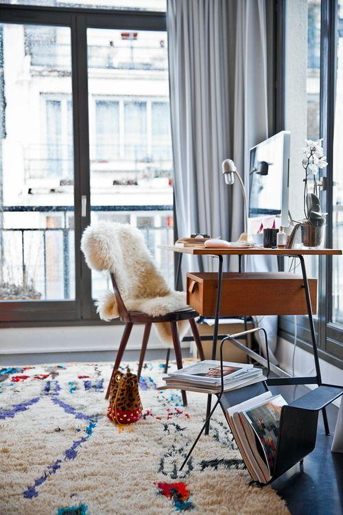 Decoration With Plush Rugs