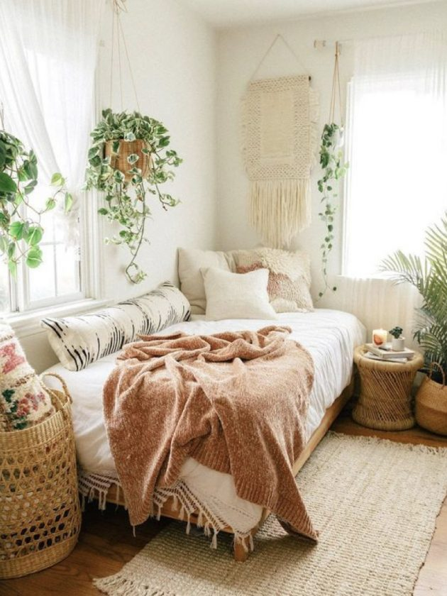 Brilliant Ideas of Nature Style Bedroom