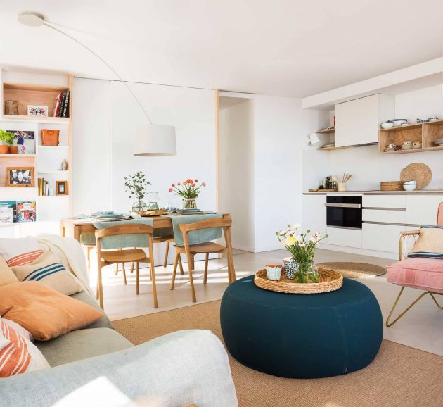 10 Ideas to Decorate a Small Apartment