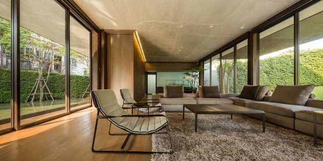 Blind House by BOONDESIGN in Bangkok, Thailand