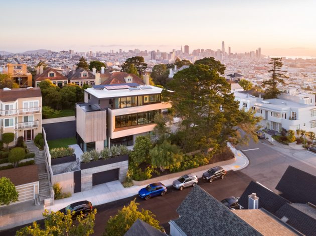 Dolores Heights Residence by John Maniscalco Architecture in San Francisco, California