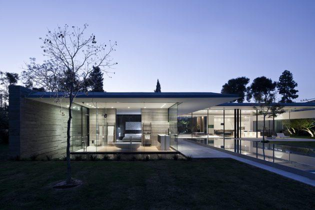 Float House by Pitsou Kedem Architects in Tel Aviv, Israel