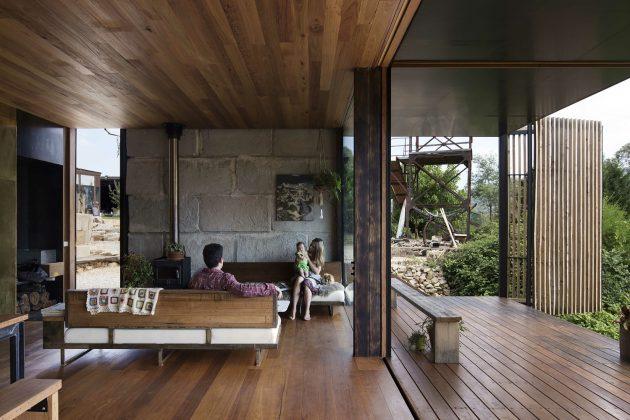 Sawmill House by Archier Studio in Yackandandah, Australia