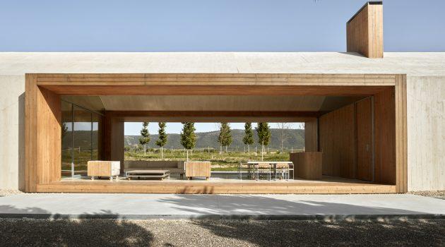 Shelter in the Vineyard by Ramon Esteve in Spain
