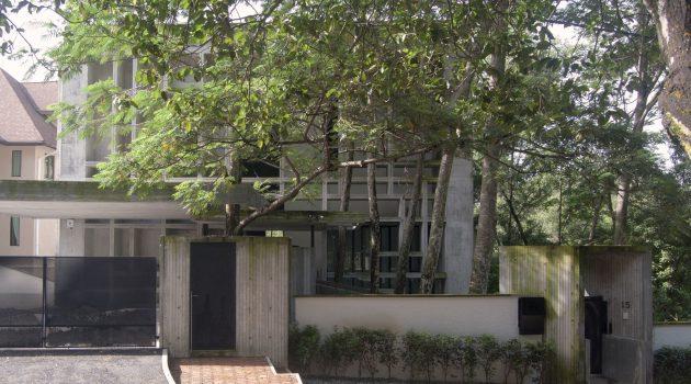 Tropical Box House by WHBC Architects in Kuala Lumpur, Malaysia