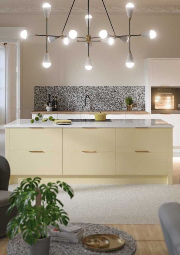 Combinations & Tips on How to Implement a Yellow Kitchen