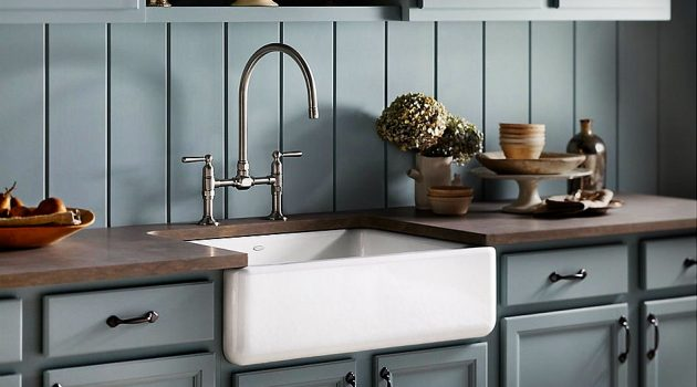 How to Clean Fireclay Farmhouse Sink