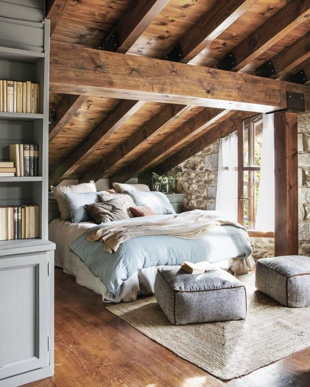 Copy the Look of This Warm & Cozy Rustic Bedroom