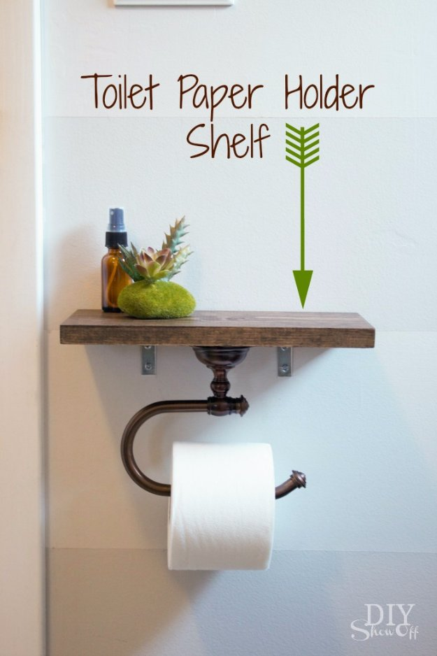 15 Genius Bathroom Crafts You Will Look Forward To Making