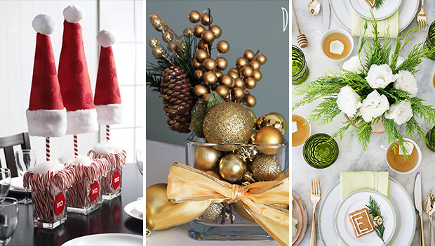 15 Super Cool DIY Christmas Centerpiece For Your Festive Table Decor