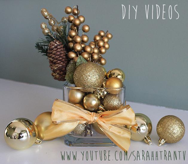 15 Super Cool DIY Christmas Centerpiece For Your Festive Table Decor